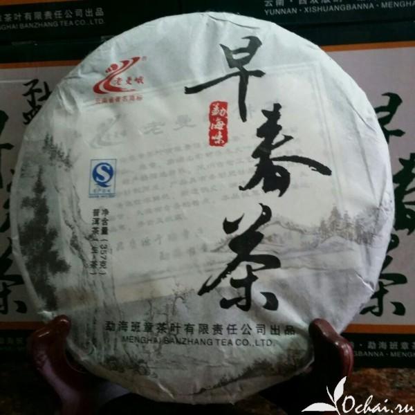Купить прессованный Шен Пуэр из Китая